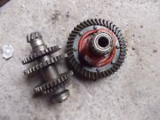 Farmall Cub Tractor Ih Lower Drive Gears W/ Pinion And Ring Gear Assembly
