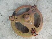 Early Farmall A B Bn Tractor Orignl Ih Front Hub Buckle Style And Buckles And Bolts