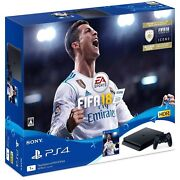 New Playstation 4 Console System Fifa 18 Pack Japan Ps4 1tb Japanese Game