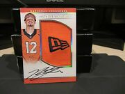 National Treasures Rookie Hats Off Autograph Broncos Paxton Lynch 2/3 2016