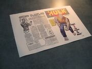 Interior Comic Book Replica Pages On Newsprint For Comics With Missing Pages
