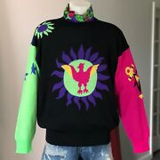 Gianni Versace Wool Sweater Anchor Sun And Stars Size It 54 From Fw 1990/91