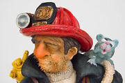 The Comic Art Of Guillermo Forchino The Firefighter 85505 Fireman Fire Fighter