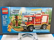 New Sealed Lego Set 4208 City 4x4 Fire Truck 243 Pieces