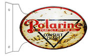 Reproduction Polarine The Perfect Motor Oil Consult Chart Sign
