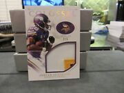 National Treasures Colossal Game Worn Jersey Vikings Adrian Peterson 2/5 2016