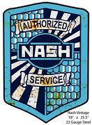 Service Nash Aged Looking Laser Cut Out Metal Sign 18andtimes25.5