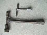 Vintage Tractor Implement 2 Ih Jd Ford John Deere Ac T Wrenches Wrench Farmall