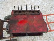 Farmall H Hv Early Sh Tractor Orig Good Ih Gas 4 Cylinder Engine Motor Block And