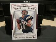 National Treasures Red Parallel Base Card Chargers Philip Rivers 07/17 2015