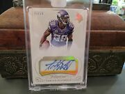 Panini Flawless Gold On Card Autograph Jersey Vikings Adrian Peterson 01/10 2015