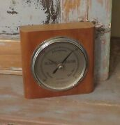Vintage Barometer Germanow Simon Co Rochester N.y Made In England