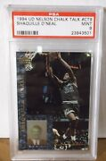 1994 Ud Nelson Chalk Talk Ct9 - Shaquille Oand039neal - Psa 9 Mint