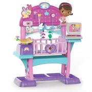 Doc Mcstuffins Baby Doll Nursery Bed Crib Play Set Kids Toddler Pretend Play New