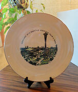 Seattle Worlds Fair 1962 Century 21 Frederick And Nelson Department Store Plate