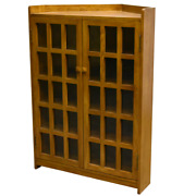 Crafters And Weavers Mission Corner Bookcase Michael's Cherry