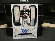 Panini Flawless Blue On Card Autograph Jersey Raiders Marcus Allen 02/20 2015