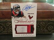 Panini Flawless Ruby Autograph Jersey Texans Auto Arian Foster 01/15 2014