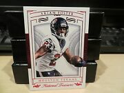 National Treasures Red Parallel Base Card Texans Arian Foster 07/23 2015