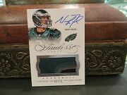 Panini Flawless Silver On Card Autograph Jersey Eagles Nick Foles 04/25 2014
