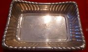 Made By Reed And Barton Tray Sterling Silver Large Tray X304 534 Grams Estate