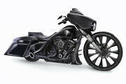 Freedom Performance Turn Out Exhaust In Black For Harley 2017-2018 M8