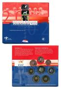 Netherlands 2002 Charity Guide Dogs Official Mint Euro Coin Year Set Bu