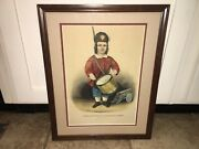 Original Currier And Ives Print The Little Drummer Boy Cannon Drum