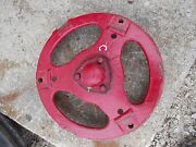 Farmall C Tractor Ih Front Pedestal Cast Hub Spindle To Rim W/ Cap 3 Buckle Styl