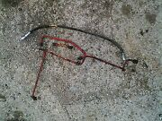 Farmall 1066 966 1466 Tractor 4 Ih Ihc Brake Line Lines Steel And Rubber