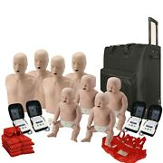 Cpr Adult Manikin 4-pack And Infant Manikin 4-pack W. Feedback Aed Ultratrainers