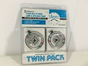 Intermatic Sb111td420a Clock Timer 24hr Lamp And Appliance 2 Pack