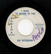 Northern/soul Harmony/popcorn-victorians-i Want To Belong To You/side By S