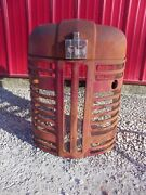 Farmall 350 300 Tractor Nice Original Factory Ih Ihc Front Nose Cone Hood Grill