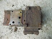 Farmall 560 Tractor Good Working Hydraulic Valve Tower Side Brace And Valve