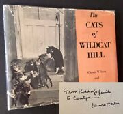 Edward Weston, Charis Wilson / The Cats Of Wildcat Hill Signed 1st Edition 1947