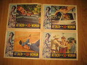 Attack Of The 50 Ft Woman Original Lcs 3 4 5 6 Movie Poster