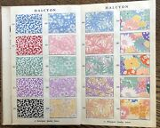Vintage Art Deco Halcyon 173 Fabric Samples Fred Butterfield