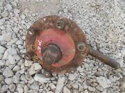 Ford 8n Tractor Original R Spindle Steering And Hub Nut + Cap For Rim To Tractor