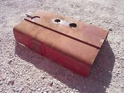 Farmall 656 Rc Utility Ih Tractor Engine Motor Hood Cover Panel And Chrome Emblem