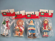 The Wizard Of Oz Set Of 4 Ornaments Kurt S Adler Holiday Trim