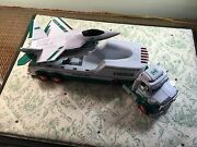 2010 Hess Toy Truck With Jet Fighter - Sounds Lights Work