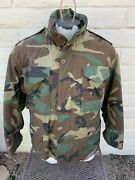 Camouflage Cold Weather Field Jacket With Liner Small X- Short Golden Mfg Co.