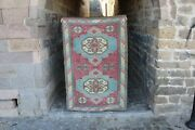 Vintage Handwoven Turkish Oushak Area Rug 6and0394x4and0392