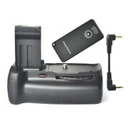 Battery Grip With Ir Remote Control For Canon Eos 100d Digital Dslr Camera