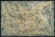 Esther Geller Jewish Encaustic Hot Wax Painting Boston Abstract Expressionist
