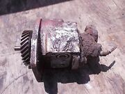 Farmall 450 400 Gas Ih Tractor Live Hydraulic Pump And Drive Gear And Distributor Dr
