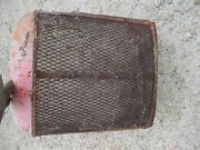 Allis Chalmers Ac Wd45 Wd Tractor Original Front Nose Cone Grill W/ Front Screen