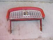Farmall 340 Rc Tractor Ih Ihc Nice Front Nose Cone Top Grill Bonnet And Ih Emblem