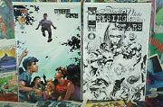 1999 Top Cow Comics Rising Stars 1 Black And White Cover And Dynamic Force Varian